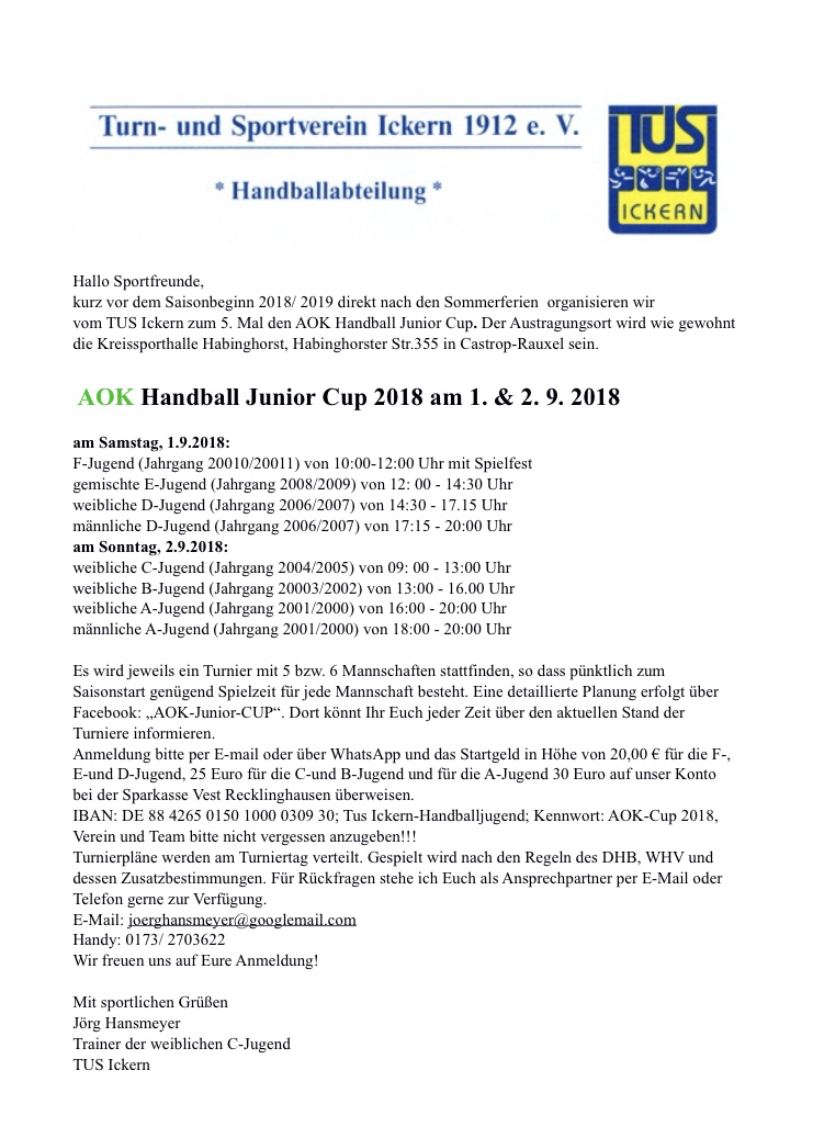 AOK Cup 2018